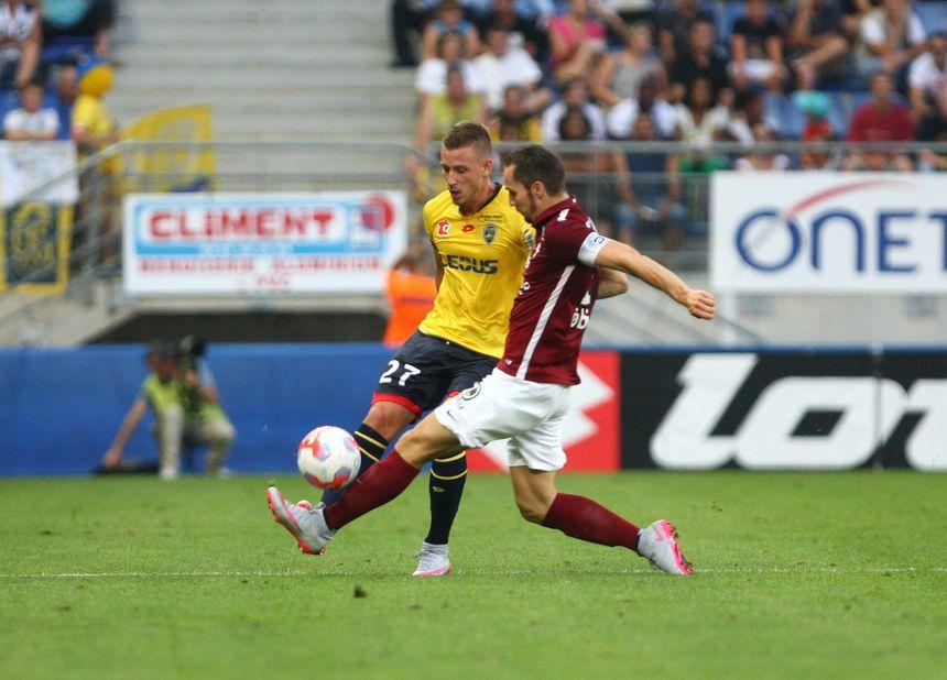 La dernière fois, que le FC Sochaux a accueilli le FC Metz  en Ligue, c'était en août 2015