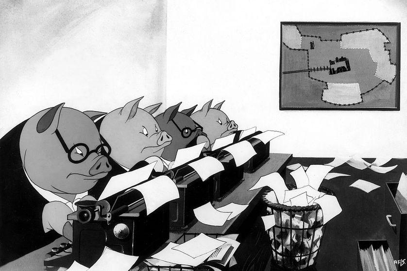 Dessin animé traditionnel de John Hallas et Joy Bachelor sorti en 1954