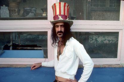 Franck Zappa en mars 1979 à Los Angeles, en Californie.