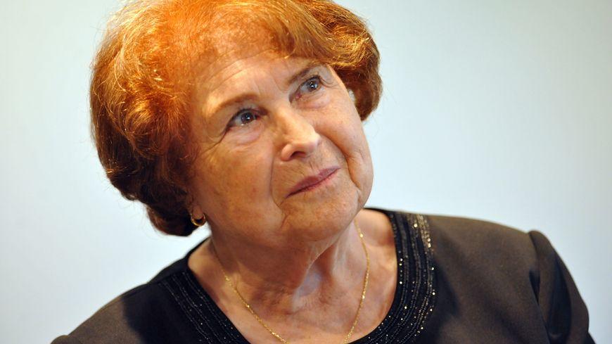 Ida Grinspan, une des dernières survivantes de la Shoah, témoignait régulièrement auprès des jeunes