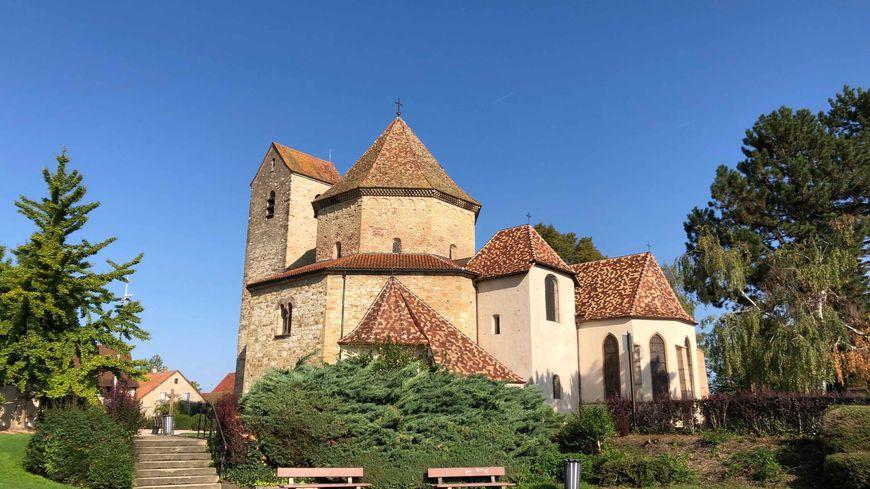 Ottmarsheim, église St Pierre et St Paul