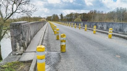 Le pont sur le Cher fait déjà l'objet d'une circulation alternée