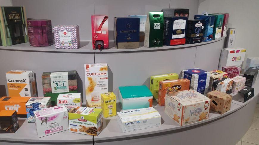 Les différents cartons fabriqués par Rey Emballage à Mamers