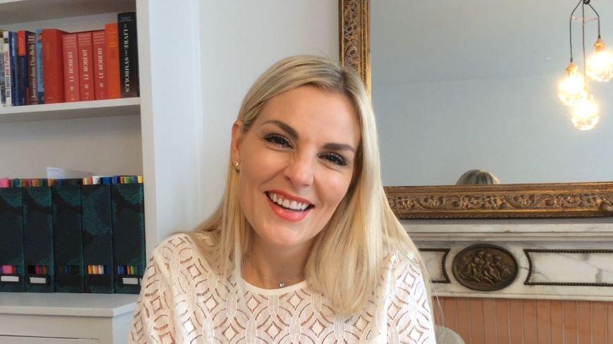 Anne Tuffigo dans son cabinet de consultation