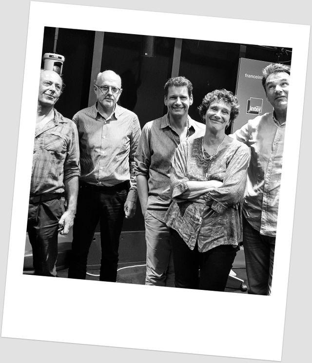 Gildas Flahault, Etienne Bourgois, Vincent Josse, Isabelle Autissier et Eric Gueret - Le grand Atelier, sept 2018