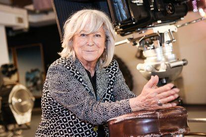Margarethe von Trotta actrice, réalisatrice et scénariste de cinéma allemande, au musée du film de Düsseldorf, Allemagne, le 11 mai 2017.