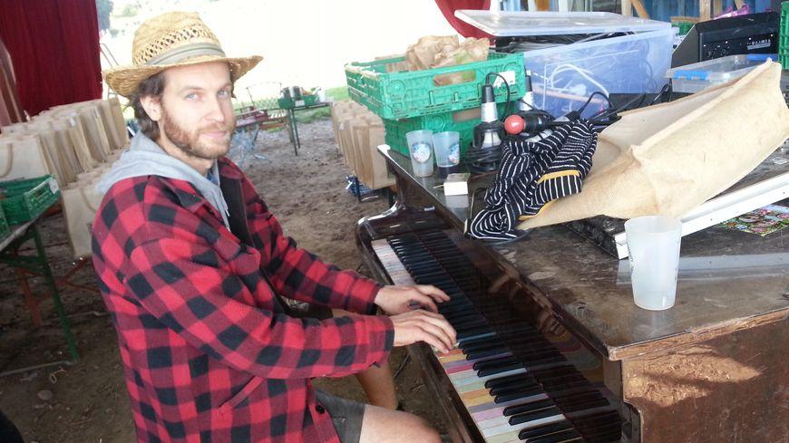 Gabriel Willem le maraîcher musicien