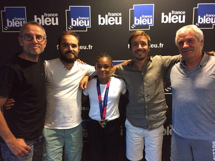 Mélanie de Jesus dos Santos et son entraîneur Eric Hagard invités du Débrief.
