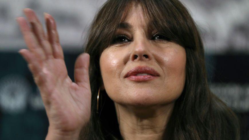 Monica Bellucci préside cette année le Dinard Film Festival (ici à Madrid en 2017)