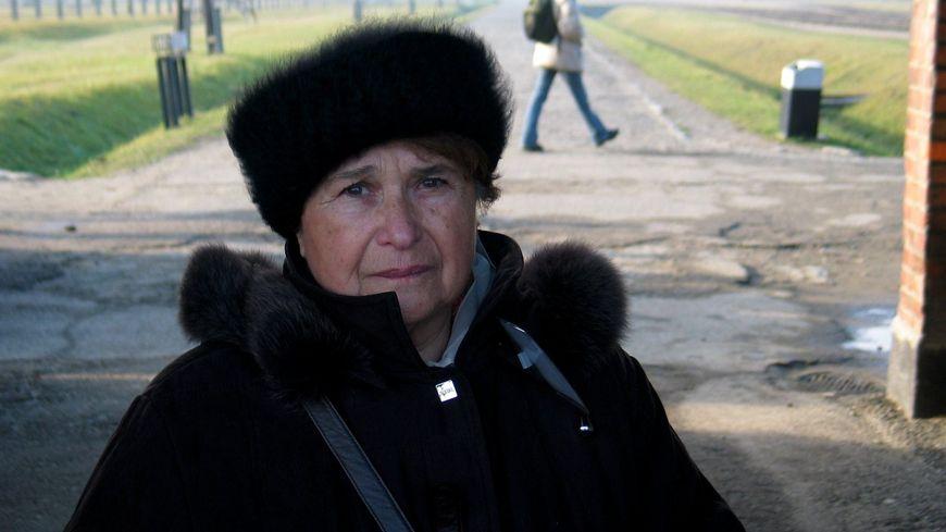 Ida Grinspan de retour à Auschwitz
