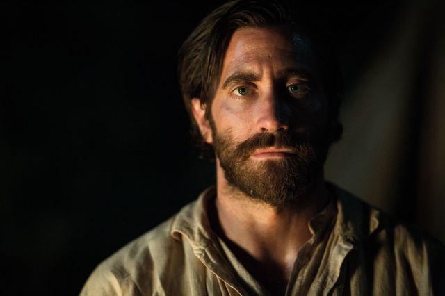 """Jake Gyllenhaal, sur le tournage des """"Frères Sisters"""", le western du cinéaste français Jacques Audiard (sortie le 19 septembre 2018)"""