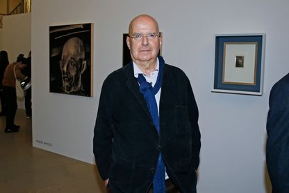 Pierre Guyotat, écrivain et dramaturge à Paris, le 21 avril 2016.