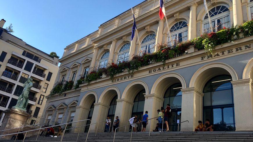 La mairie de Saint-Etienne
