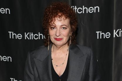 Nan Goldin, photographe, au Gala du printemps 2018 de The Kitchen, le 16 mai 2018 à New York.