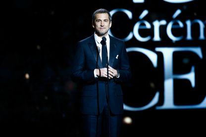 Guillaume Canet, acteur, réalisateur, scénariste et producteur français, lors de la cérémonie des Césars, en mars 2018.