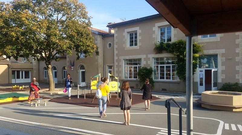 Lundi matin France Bleu Poitou était à Buxerolles pour la rentrée.