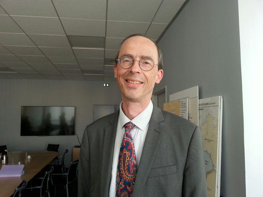 Pierre Stussi, directeur général des services de la métropole du Grand Nancy