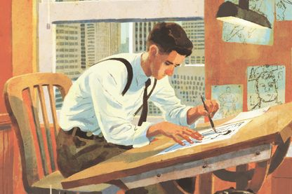 Joe Shuster Couv ed Urban Graphic
