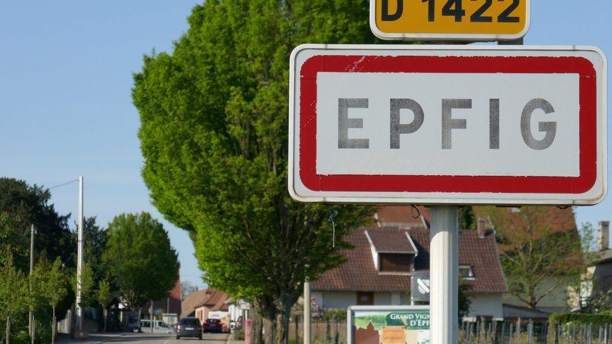 Panneau d'entrée d'Efig.