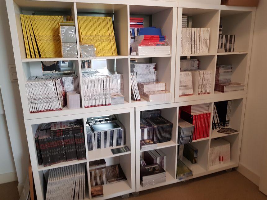 Les Ardents Editeurs représentent désormais une collection complète de beaux livres