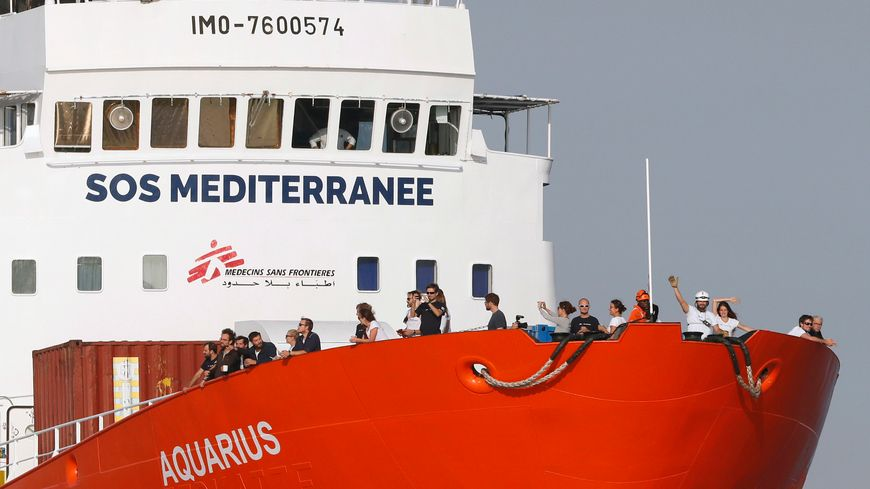 L'Aquarius est en route vers Marseille