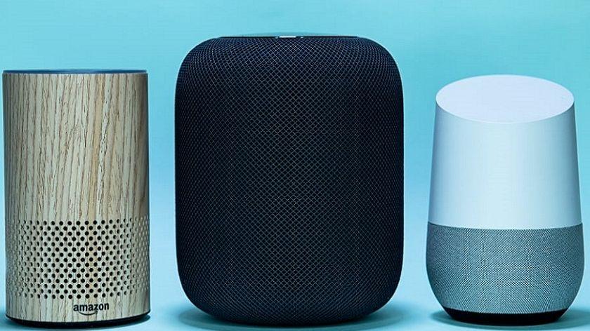 Echo d'Amazon, Homepod, Google Home