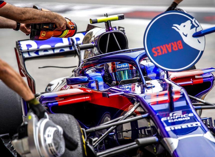 Pas de miracle pour Pierre Gasly, avec sa Toro Rosso en déficit de performance à Monza