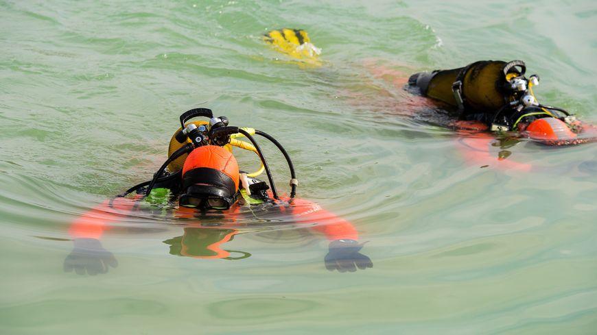 intervention des pompiers plongeurs