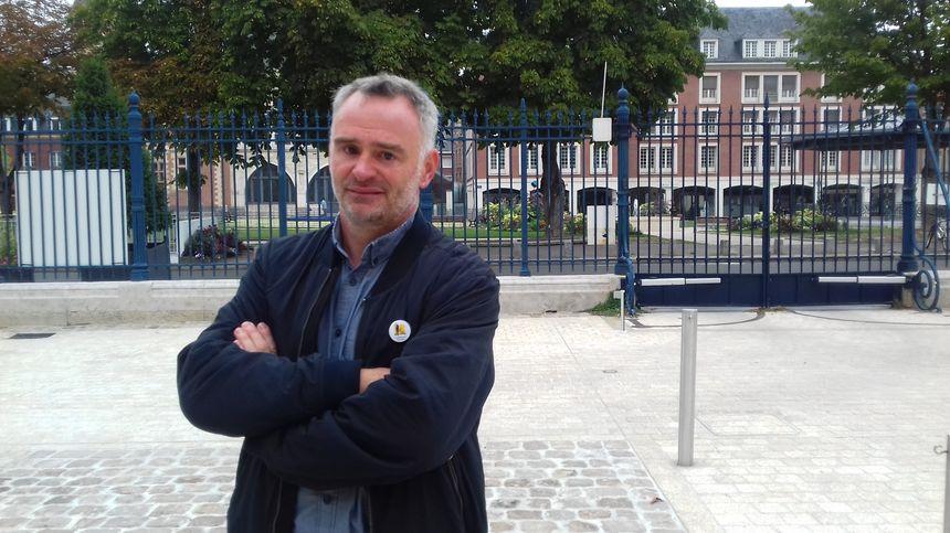 Laurent Pinatel, le porte-parole de la Confédération paysanne