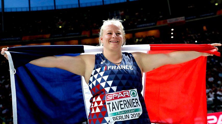 Alexandra Tavernier a décroché la médaille d'argent aux championnats d'Europe de Berlin au mois d'août.