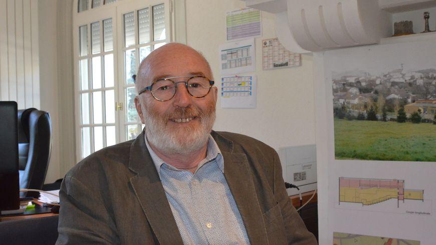 Raymond Joassard, maire de Sorbiers jusqu'au 11 novembre prochain
