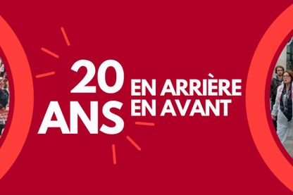 Affiche des 20 ans de l'association ATTAC