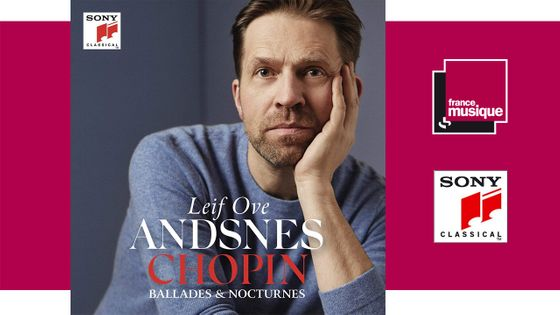 Leif Ove Andsnes - Chopin : Ballades & Nocturnes chez Sony Classical