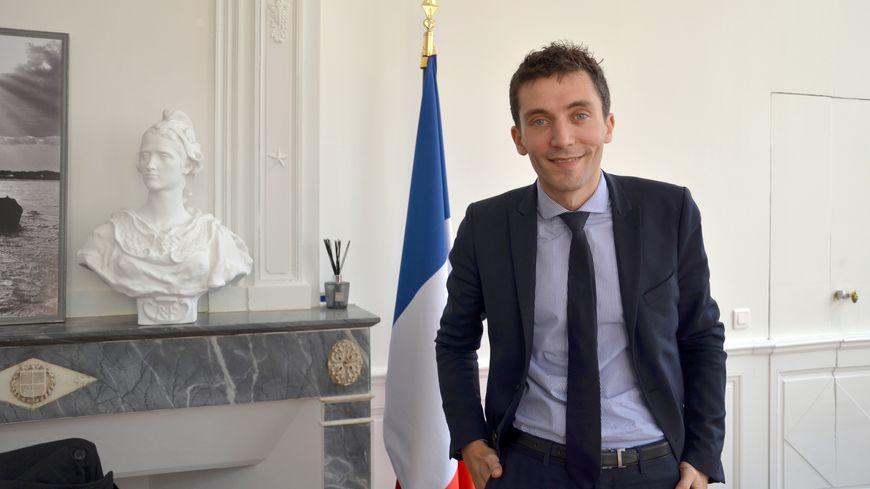 Julien Sanchez, le maire de Beaucaire