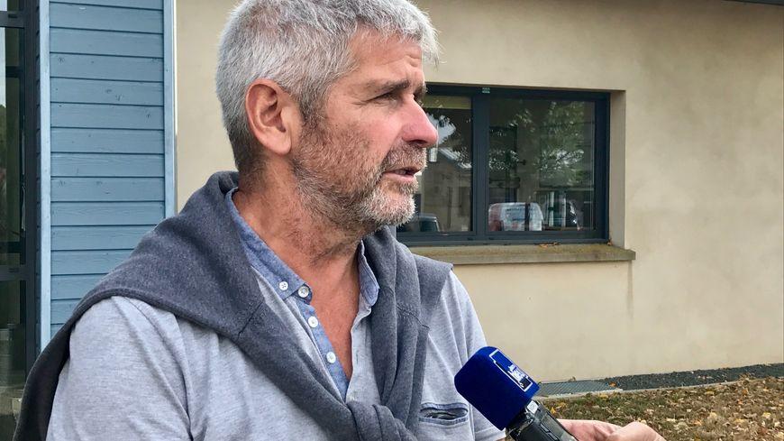 Patrick Gaultier le président de la communauté de communes du Pays de Craon
