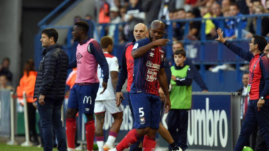 Baïssama Sankoh a été expulsé à la 94e minute de jeu face à Lyon