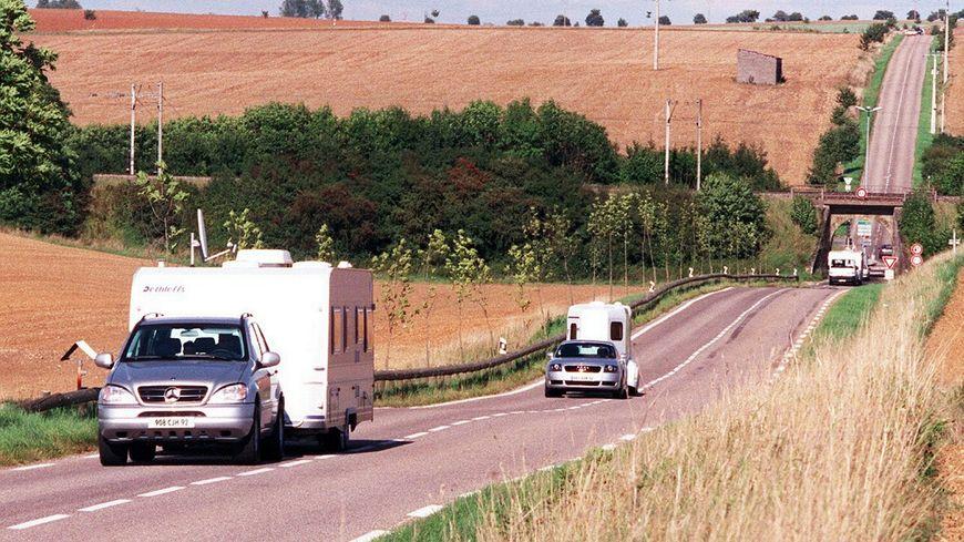 Sans aire d'accueil conforme à la loi, pas de fermeté possible, rappelle le préfet de Meurthe-et-Moselle. (Photo d'illustration)