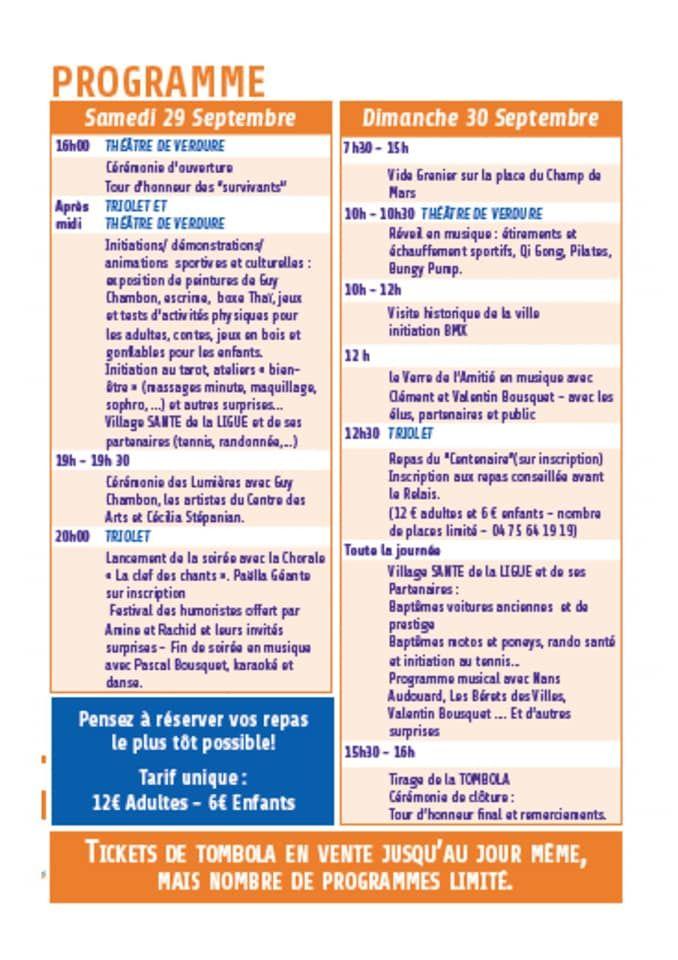 Programme des 24h pour la vie