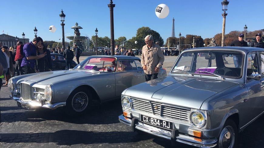 Ce dimanche 30 septembre 2018, plus de 200 collectionneurs sont venus exposer leur anciennes voitures place de la Concorde à Paris.