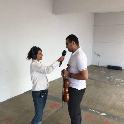 « Partager la musique, l'émotion, c'est quelque chose d'exceptionnel »  La #RentreeEnMusique avec un élève du conservatoire @Blanc_Mesnil au micro de @SofiaAnastasio pour @francemusique