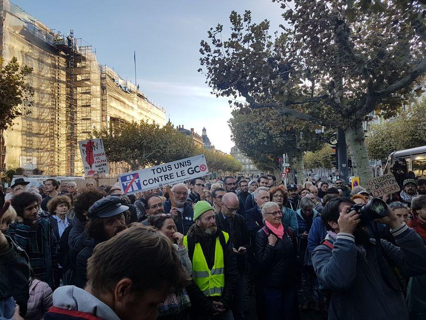Les militants anti-GCO déçus après la décision du tribunal administratif de Strasbourg.