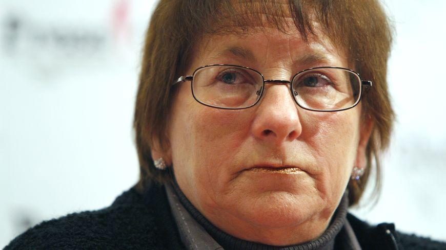 Marie-Ange Laroche, la veuve de Bernard Laroche, ici en 2009.