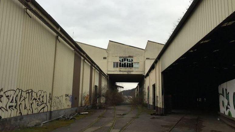 l'ancienne usine Duralex de Rives de gier