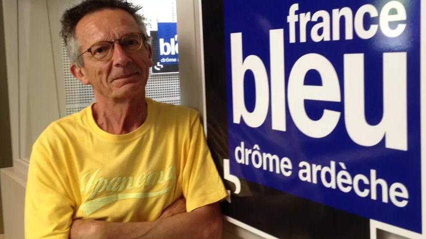 Patrice Leconte dans le studio de France Bleu Drôme Ardèche