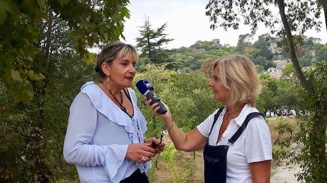 Mon Plus Beau Village à Sauve avec Alexandra Mollard, Madame le Maire