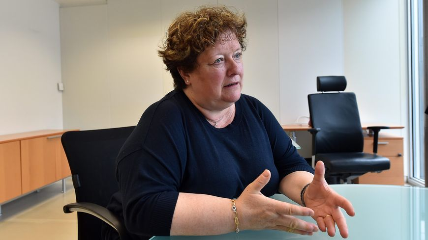 Brigitte Fouré est candidate à sa réélection à la mairie d'Amiens en 2020
