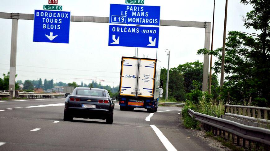 L'A10 est coupée dans le sens Orléans vers Paris.