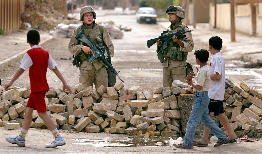 Bagdad, 13 avril 2003