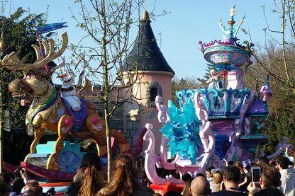 Une des attractions de Disneyland Paris