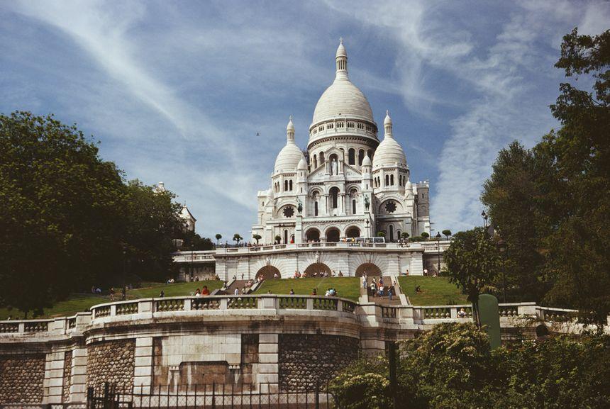 Le Sacré-Coeur à Montmartre